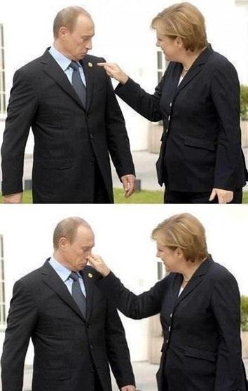 Merkel und Putin - Liebe und Verschwörung