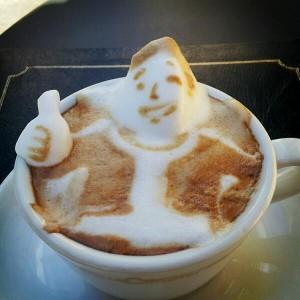 Kaffee-Bad