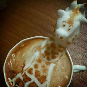 Giraffe macchiato